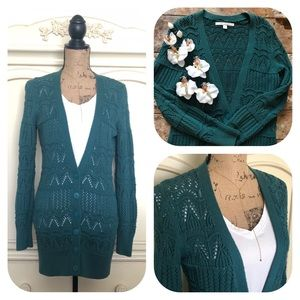 LC Lauren Conrad Sweaters - LC Lauren Conrad Crochet Knitted Cardigan